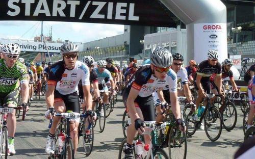 """Team DKS beim """"Rad am Ring"""""""